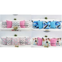 SET Sarung bantal sofa / cushion cover 50x50 -Shafiyyah.Sarban-