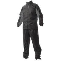 Jas Hujan Merk Givi Rain Suit 06 Black Grey