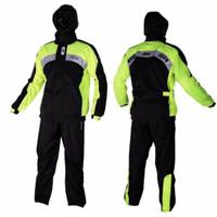 Jas Hujan Merk Givi Rain Suit PRS01 Yellow