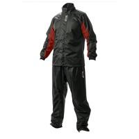 Jas Hujan Merk Givi Rain Suit 06 Red
