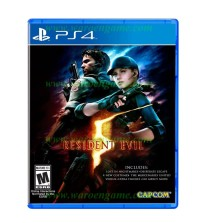 STORIQA PS4 Resident Evil 5 HD Remaster R3