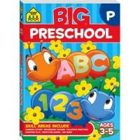 BIG PRESCHOOL Workbook (Age 3-5) buku anak aktivitas activity book SZ