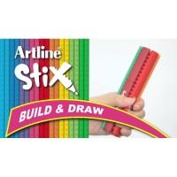 Artline Stix Brush Marker SATUAN Coloring Brush Kuas Spidol Warna