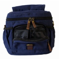 Tas Kamera Waterproof Navy Sling Bag Mirrorless