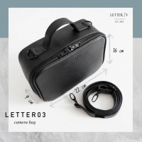 Tas Kamera MIRRORLESS dan LETTER03 camera bag