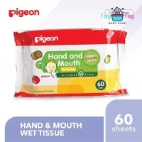 Pigeon Hand & Mouth Wet Tissue 60's / Tisu Basah Pigeon Hand & Mouth