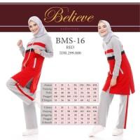Terpupoler Setelan Baju Olahraga Wanita Muslim Believe Bms 16 / Baju