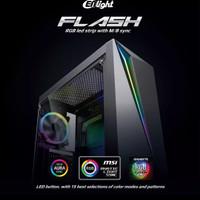 Casing PC ENLIGHT FLASH - Suport ATX Dan mATX Gaming Casing