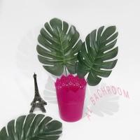 Daun Monstera imitasi bunga plastik artificial