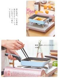 Wajan Penggorengan Omlet Mini Tamagoyaki Non Stick Pan lapisan keramik