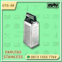 4 Way Grater Parutan Stainless MUTU GTS-48 | Parutan Jagung dan Keju