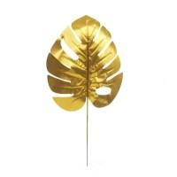 DAUN HIAS MONSTERA EMAS / GOLD ARTIFICIAL