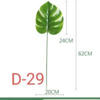 Daun Monstera / Daun artificial / D28/pcs