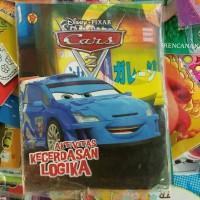 Buku Aktivitas tema Cars Disney