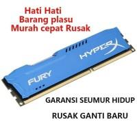 RAM GAMING KINGSTON HYPERX FURY DDR3 8GB PC12800 HYPERX 8GB - HYPER X