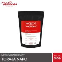 Kopi Arabica Toraja Napo 500 Gram (Biji/Bubuk) | Worcas Coffee