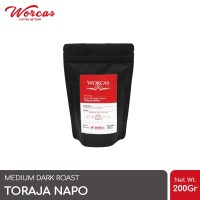 Kopi Arabica Toraja Napo 200 Gram (Biji/Bubuk) | Worcas Coffee
