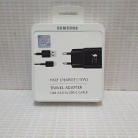 Travel Charger Samsung S8 S8+ S9 S9+ A3 A5 A7 2017 A8 Black ORI 100%