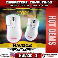 Armaggeddon Havoc II-RGB Gaming Mouse-White-Best Deal