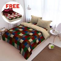Kintakun Bed Cover D'luxe 160x200 - Sierra - Free Sprei D'Luxe