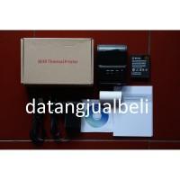 Zjiang Mini Portable Bluetooth Thermal Printer - ZJ-5802 - Black