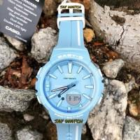 Jam Tangan Wanita Casio Baby-G BGS-100-RT-2A Soft Blue Original BM