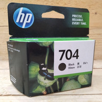 Tinta Printer Hp 704 Black Original