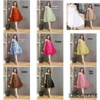 Dress Erlina lace Dress Wanita Brukat Dress Cewek Import