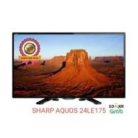 SHARP AQUOS LED TV 24 INCH 24LE175 USB MOVIE