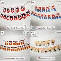 Bunting Flag / Happy Birthday Banner / Banner Flag / Dekorasi Ultah