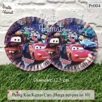 Piring Kertas / Piring Kue Cars
