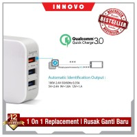 INNOVO CHARGER ADAPTOR QUALCOMM QUICK CHARGER 3.0 FAST CHARGING - H105