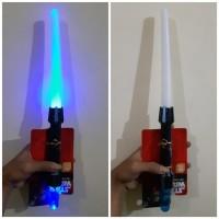 Mainan Pedang Star Wars LED Lightsaber - Pedangan new