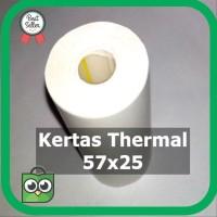 Termurah K5 Kertas Thermal 57 x 25 untuk - Printer 58 Struk Kasir