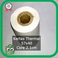 Termurah K5 Kertas Thermal 57 x 40 untuk - Printer 58 Struk Kasir