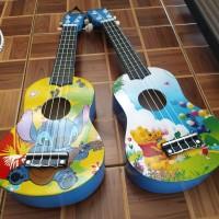 Gitar kentrung/ ukulele motif senar 4 import murah