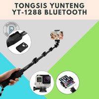 Tongsis Bluetooth Yunteng YT-1288 Yunteng For Camera,Action Cam,Hp