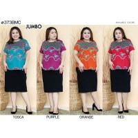 Blouse Batik Super Jumbo Bigsize Baju Atasan Wanita Big Size 373 vol 1