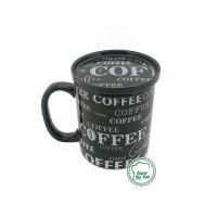 Cangkir + Tutup Full Print Coffee / Mug Teh / Gelas Kopi