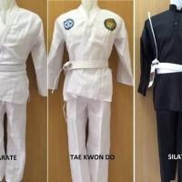 Baju pangsi silat,taekwondo,karate,dll semua ukuran,barang berkualitas