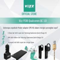 TRAVEL CHARGER VIZZ PD18 5 OUTPUT FAST CHARGING 3.1A POWER IQ GARANSI