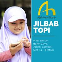 Jilbab Anak Sekolah SD Topi Sporty | Abdullah hijab