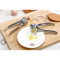 garlic press bawang putih walnut pressure penghancur stainless stell