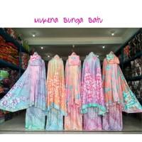 Mukena Bali Rayon Jumbo Super No.1 motif Batik Sekar Adem