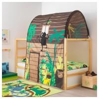 KURA tenda tempat tidur anak dengan tirai