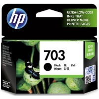 TINTA HP CARTRIDGE 703 BLACK ORIGINAL