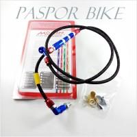Kabel Selang Rem Belakang Morin 60cm Cakram Serat Model PSI Universal