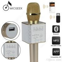 Mic Bluetooth Karaoke Wireless Microphone Q9 With Speaker Karaoke