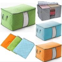 [Ready Stock] Storage Bag / Box Organizer Pakaian Selimut Sprei FRK01
