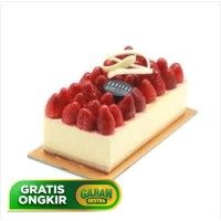 STRAWBERRY CHEESE CAKE birthday cake 10X20cm